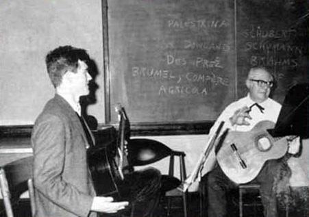Segovia and Michael Lorimer [1965]